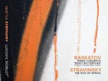 "Alexander Raskatov (geb. 1953): Klavierkonzert ""Night Butterflies"", CD"