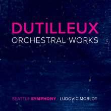 Henri Dutilleux (1916-2013): Orchesterwerke, 3 CDs