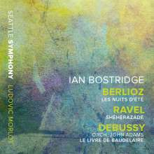 Ian Bostridge - Berlioz / Ravel / Debussy, CD