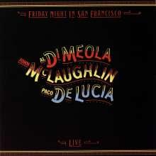 Paco de Lucia, Al Di Meola & John McLaughlin: Friday Night In San Francisco (180g), LP