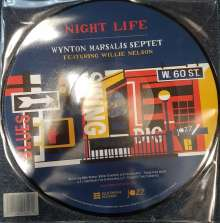 """Wynton Marsalis (geb. 1961): Night Life - Featuring Willy Nelson (Picture Disc), Single 10"""""""