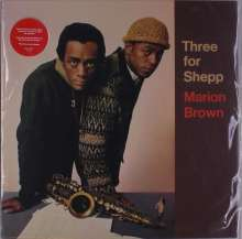 Marion Brown (1931-2010): Three For Shepp, LP