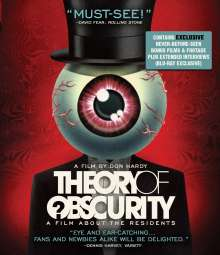 The Residents: Theory Of Obscurity, Blu-ray Disc