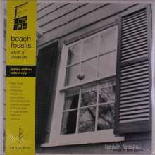 Beach Fossils: What A Pleasure (Limited-Edition) (Yellow Vinyl), LP