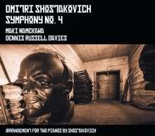 Dmitri Schostakowitsch (1906-1975): Symphonie Nr.4 für 2 Klaviere, CD