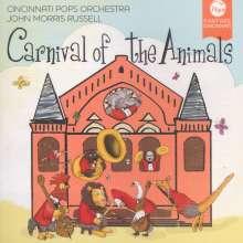 Cincinnati Pops Orchestra - Carnival of the Animals, CD