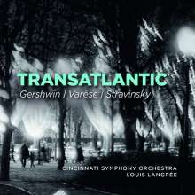 Cincinnati Symphony Orchestra - Transatlantic, 2 CDs