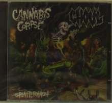 Cannabis Corpse: Splatterhash EP, CD