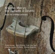 Arvydas Malcys (geb. 1957): Werke für Kammerorchester, CD