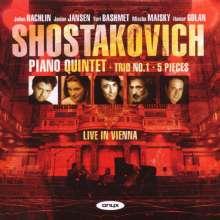 Dmitri Schostakowitsch (1906-1975): Klavierquintett op.57, CD