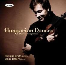 Philippe Graffin & Claire Desert - Hungarian Dances, CD