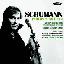 Robert Schumann (1810-1856): Violinkonzert a-moll nach dem Cellokonzert op.129, CD
