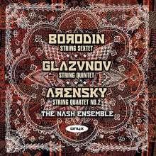 Alexander Glasunow (1865-1936): Streichquintett A-Dur op.39, CD