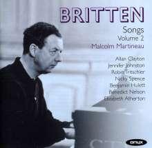 Benjamin Britten (1913-1976): Songs Vol.2, 2 CDs