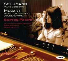 Sophie Pacini - Klavierkonzerte von Schumann & Mozart, CD