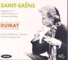 Camille Saint-Saens (1835-1921): Symphonien Nr.1, CD