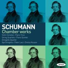 Robert Schumann (1810-1856): Kammermusik, 5 CDs