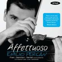 Emilio Percan - Affettuoso, CD