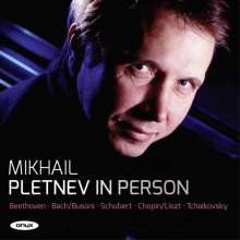 Mikhail Pletnev - In Person, CD