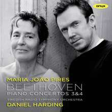 Ludwig van Beethoven (1770-1827): Klavierkonzerte Nr.3 & 4, CD