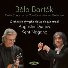 Bela Bartok (1881-1945): Violinkonzert Nr.2, 2 CDs