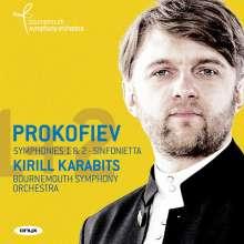 Serge Prokofieff (1891-1953): Symphonien Nr.1 & 2, CD
