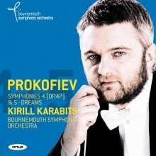 Serge Prokofieff (1891-1953): Symphonien Nr.4 & 5, CD