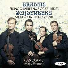 Johannes Brahms (1833-1897): Streichquartett Nr.3, CD