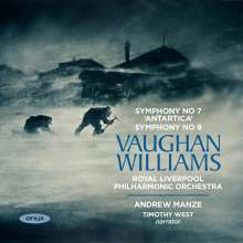 Ralph Vaughan Williams (1872-1958): Symphonien Nr.7 & 9, CD