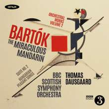 Bela Bartok (1881-1945): Orchesterwerke Vol.2, CD