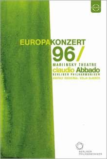 Berliner Philharmoniker - Europakonzert 1996 (St.Petersburg), DVD