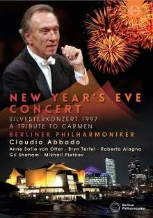 Silvesterkonzert in Berlin 31.12.97 (Tribute to Carmen), DVD