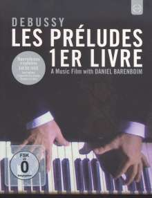 Claude Debussy (1862-1918): Preludes Heft 1, Blu-ray Disc