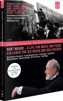 Kurt Masur - A Life for Music and Peace, 5 DVDs