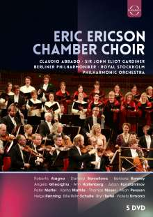 Eric Ericson Chamber Choir, 5 DVDs