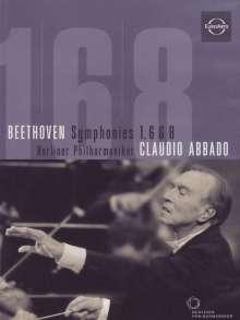 Ludwig van Beethoven (1770-1827): Symphonien Nr.1,6,8, DVD