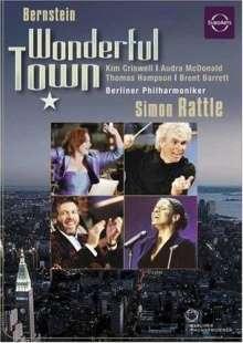 Bernstein / Criswell /: Wonderful Town / (Ac3 Dol Dts), DVD