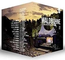 Berliner Philharmoniker - Waldbühnenkonzerte 1992-2016, 20 DVDs