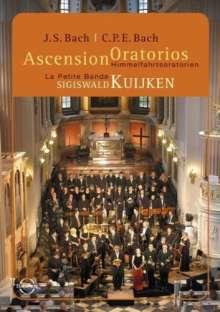 Johann Sebastian Bach (1685-1750): Himmelfahrts-Oratorium (Kantate) BWV 11, DVD