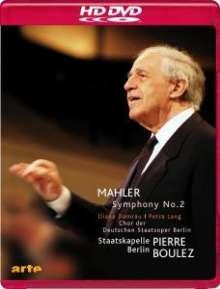 Gustav Mahler (1860-1911): Symphonie Nr.2, HD DVD