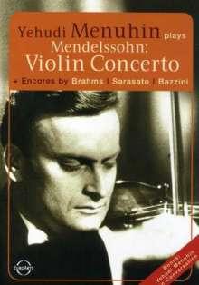 Felix Mendelssohn Bartholdy (1809-1847): Violinkonzert op.64, DVD