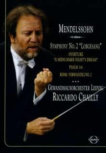 "Felix Mendelssohn Bartholdy (1809-1847): Symphonie Nr.2 ""Lobgesang"", DVD"