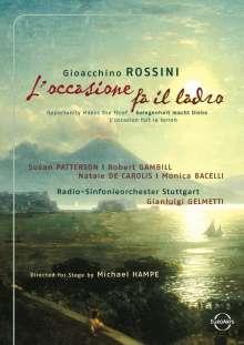 Gioacchino Rossini (1792-1868): L'Occasione fa il ladro, DVD