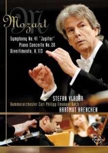 "Wolfgang Amadeus Mozart (1756-1791): Symphonie Nr.41 ""Jupiter"", DVD"