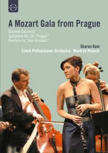 Wolfgang Amadeus Mozart (1756-1791): Symphonie Nr.38, DVD