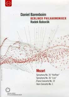 "Wolfgang Amadeus Mozart (1756-1791): Symphonien Nr.35 & 36 (""Haffner"" & ""Linzer""), DVD"