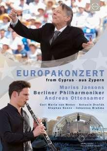 Berliner Philharmoniker - Europakonzert 2017 (Zypern), Blu-ray Disc
