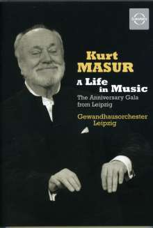 Kurt Masur - A Life in Music (Anniversary Gala Leipzig 2007), DVD