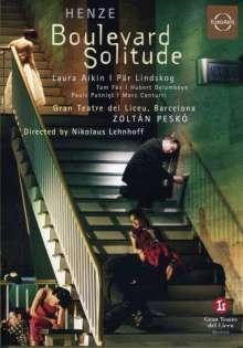 Hans Werner Henze (1926-2012): Boulevard Solitude (Oper in 7 Bildern), DVD