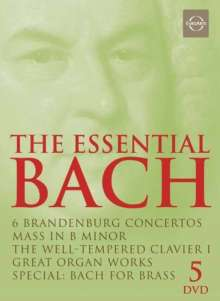 Johann Sebastian Bach (1685-1750): The Essential Bach, 5 DVDs